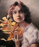 Lillian Gish 2009г 120х100 хм кат 09.09.186
