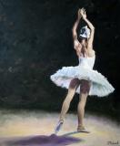 Прима-балерина Большого театра Екатерина Шипулина 2009г 120х100 хм